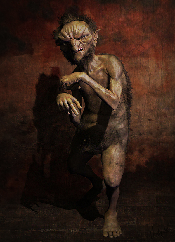 goblin by nick mcgavern, holonick